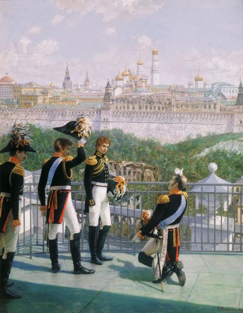Король Пруссии благодарит Россию...