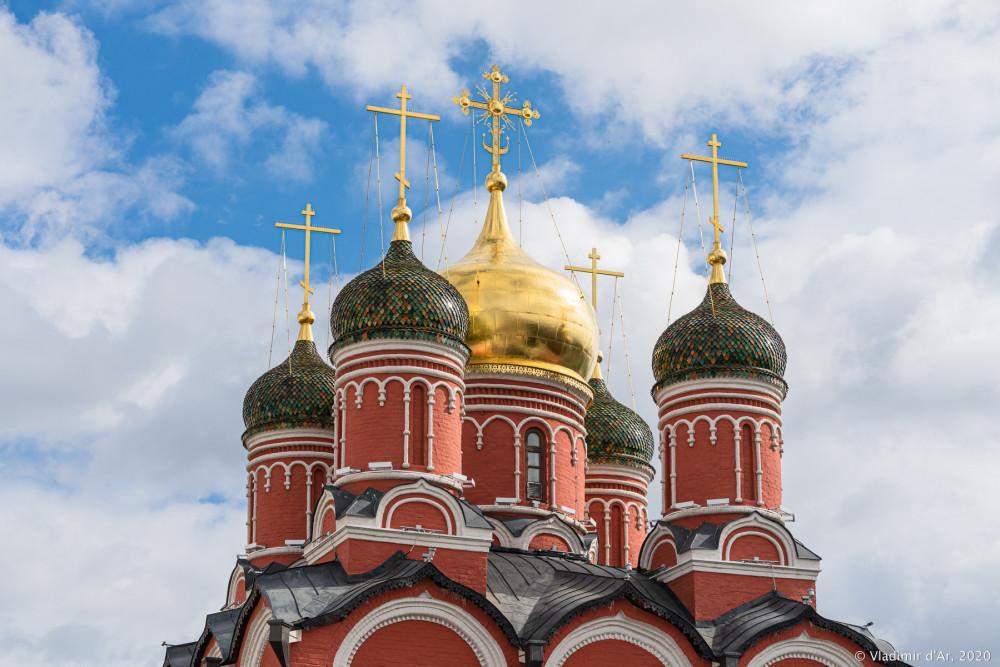 Знаменский монастырь - Знаменский собор