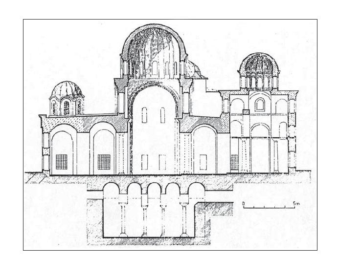 Церковь Паммакаристы в разрезе.png