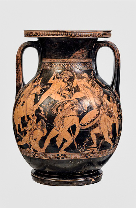 Краснофигурная пелика. Около 400 г. до н.э. Аттика.