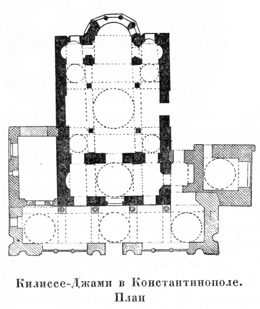 Церковь Феодора - Килиссе-Джами в Константинополе.jpg