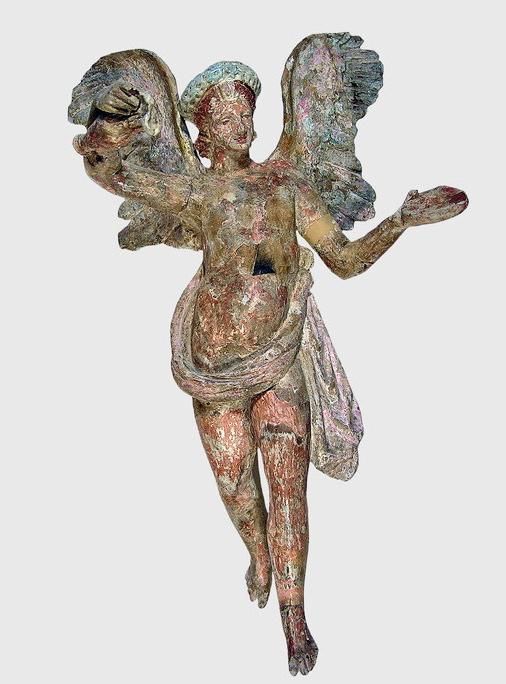 Статуэтка Эрота. II—I вв. до н.э. Глина.
