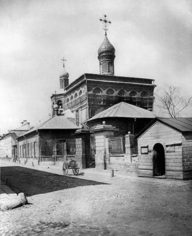 Церковь Архангела Михаила в Овчинниках - 1882 год