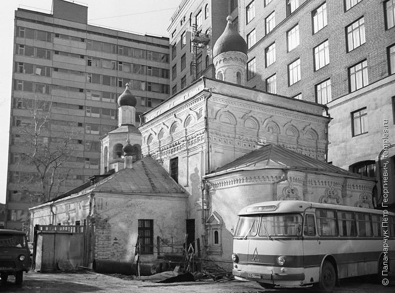 Церковь Архангела Михаила в Овчинниках - 1979 год