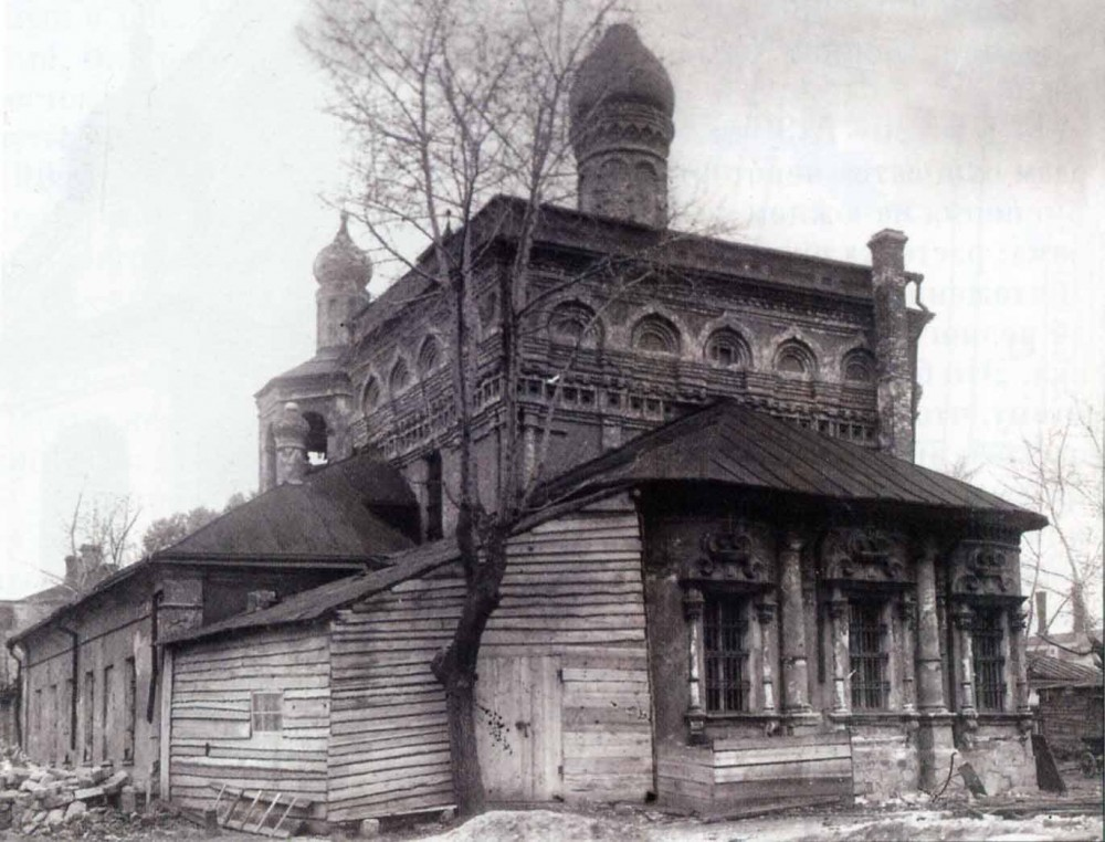 Церковь Архангела Михаила в Овчинниках - 1933 год