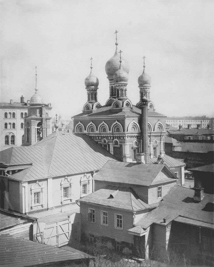 Церковь Георгия Победоносца что в Ендове - 1882 год