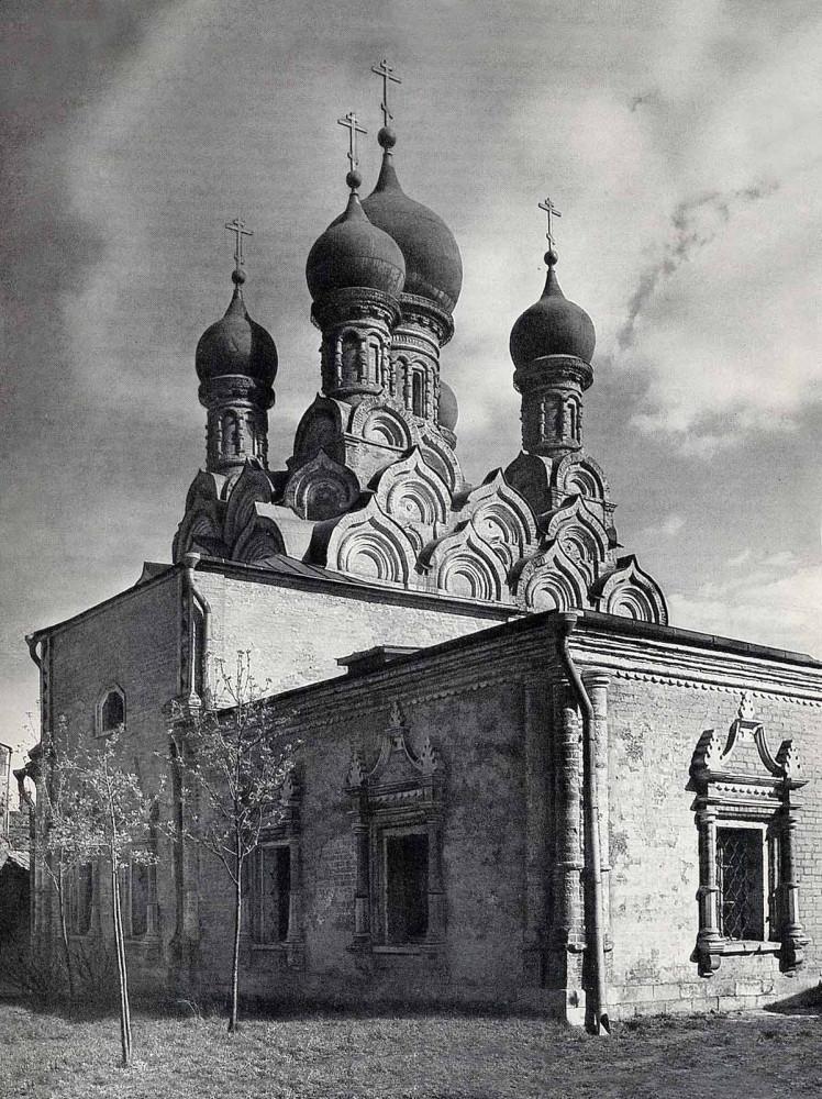 Церковь Георгия Победоносца что в Ендове - 1960-1971