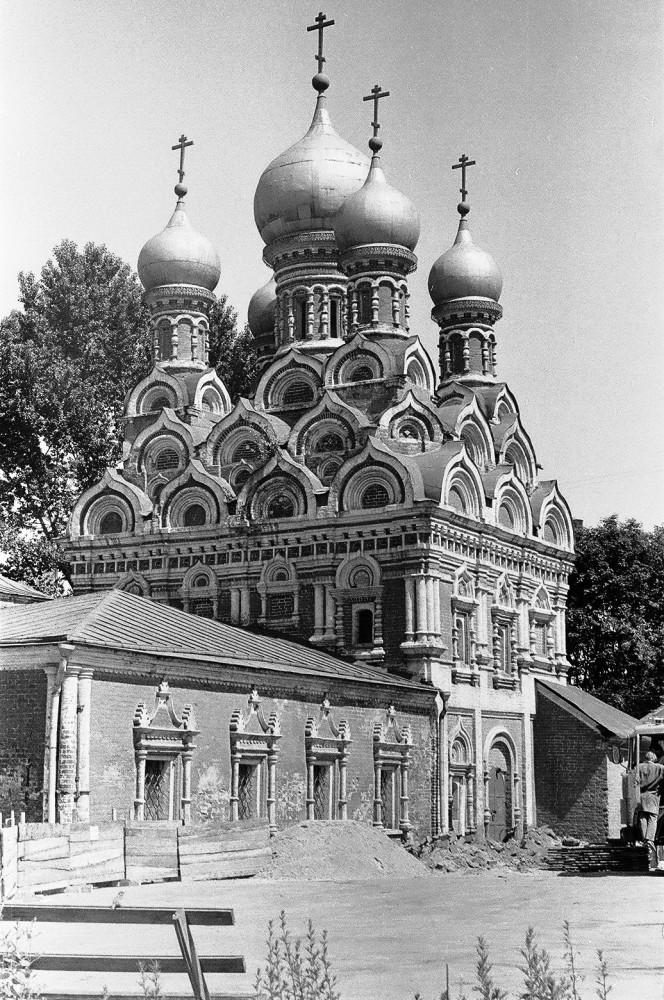 Церковь Георгия Победоносца что в Ендове - 1986-1987 годы