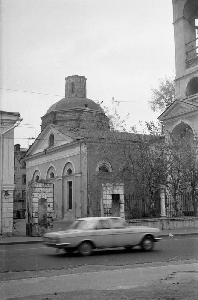 Храм Успения Богородицы в Казачьей слободе - 1972 год