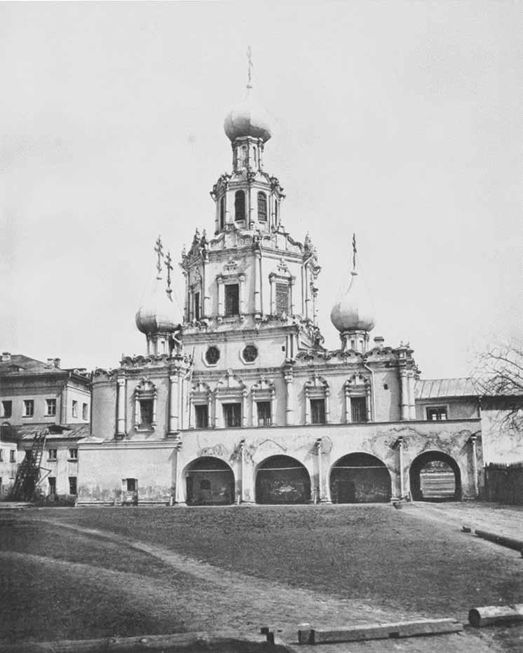 Церковь Иконы Знамение Божьей Матери на Шереметевом дворе