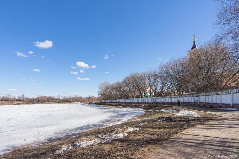 Цареборисовская плотина - 302 - дворец Бориса Годунова
