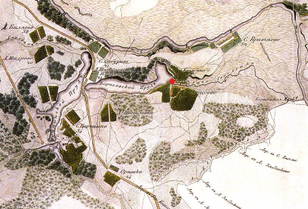 Окрестности Борисово