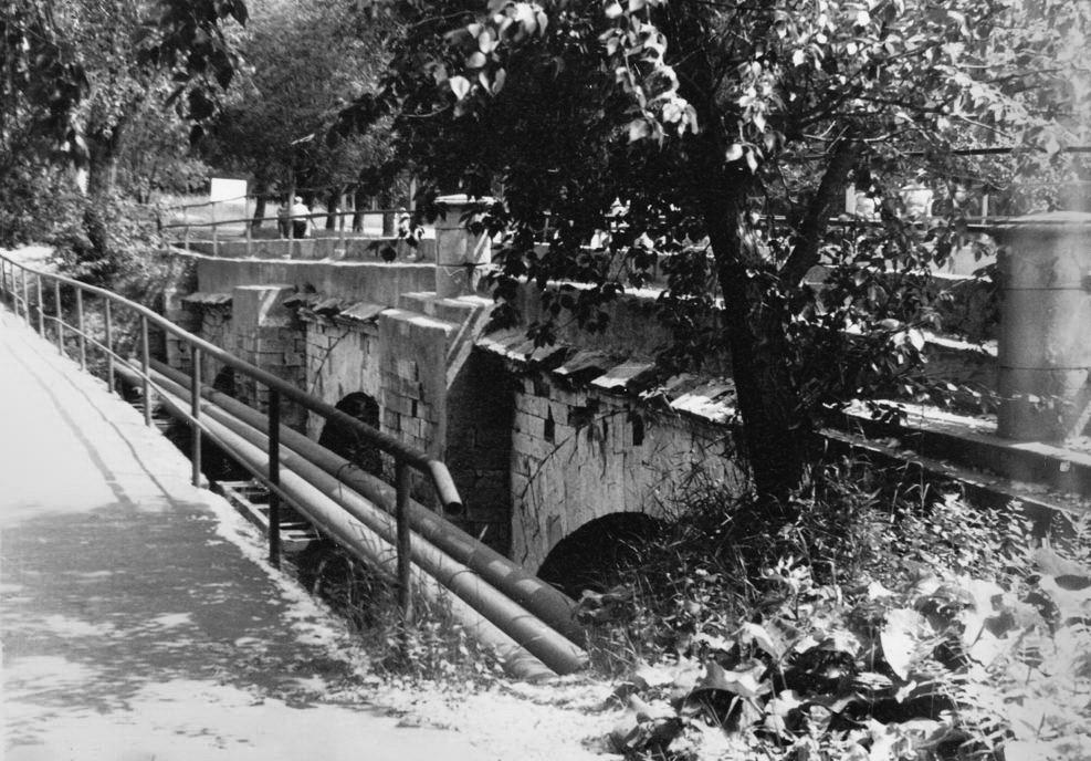 Царицынская плотина. 1986 год.