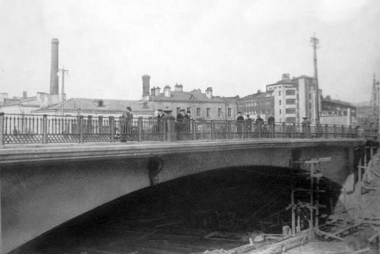 Малый Краснохолмский мост  - 1930-1935 гг.