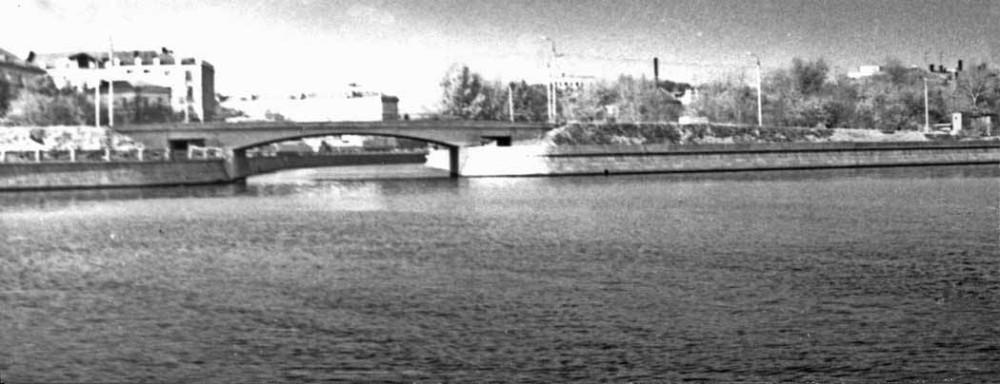 Шлюзовой мост - 1973-1977 гг.