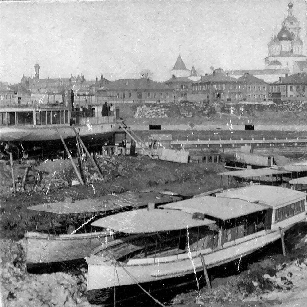 Шлюзовой мост - док - 1920-1925 гг.