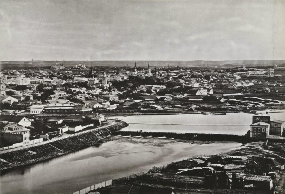 Бабьегородская плотина - 1886 год.