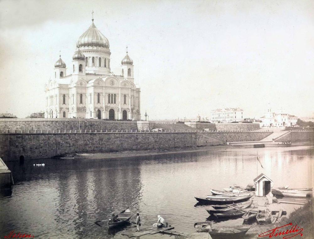 Храм Христа Спасителя - 1890-1900 гг