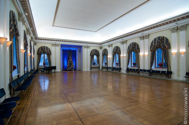 Бальный зал Спасо-Хауса
