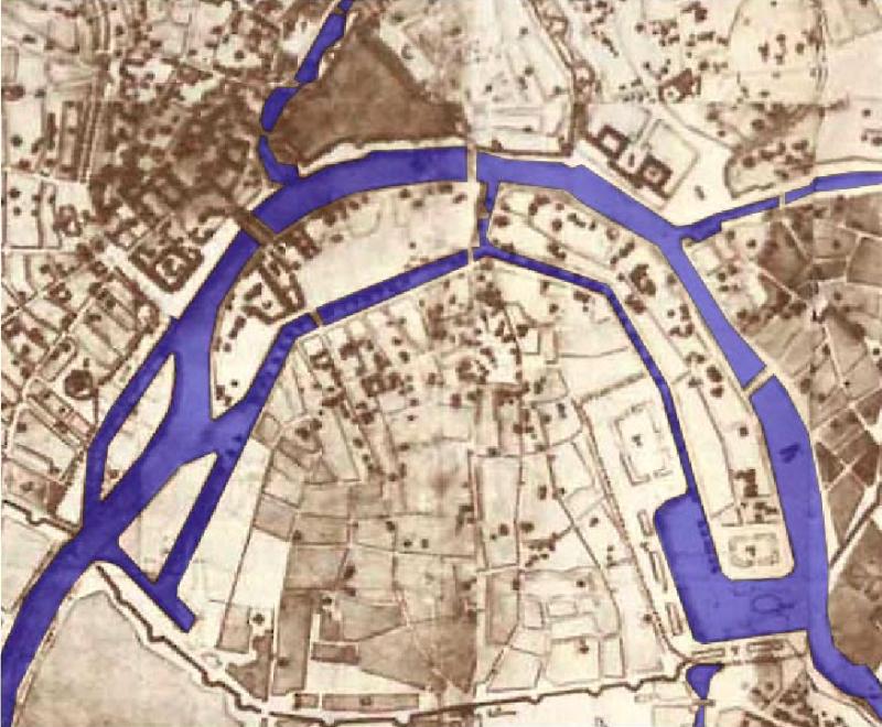 Проект канала - 1775 год
