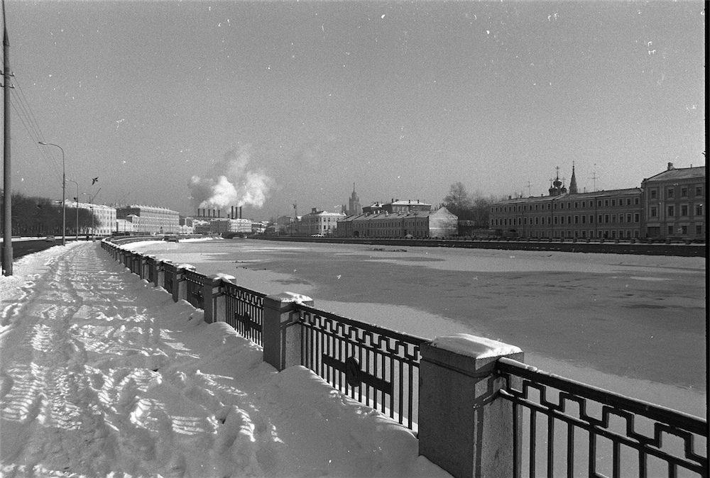 Водоотводной канал - 1984 год