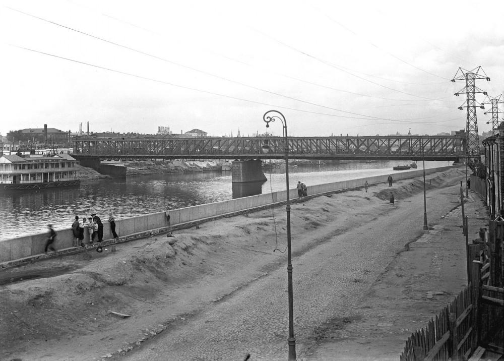 Большой Краснохолмский мост - 1936 год