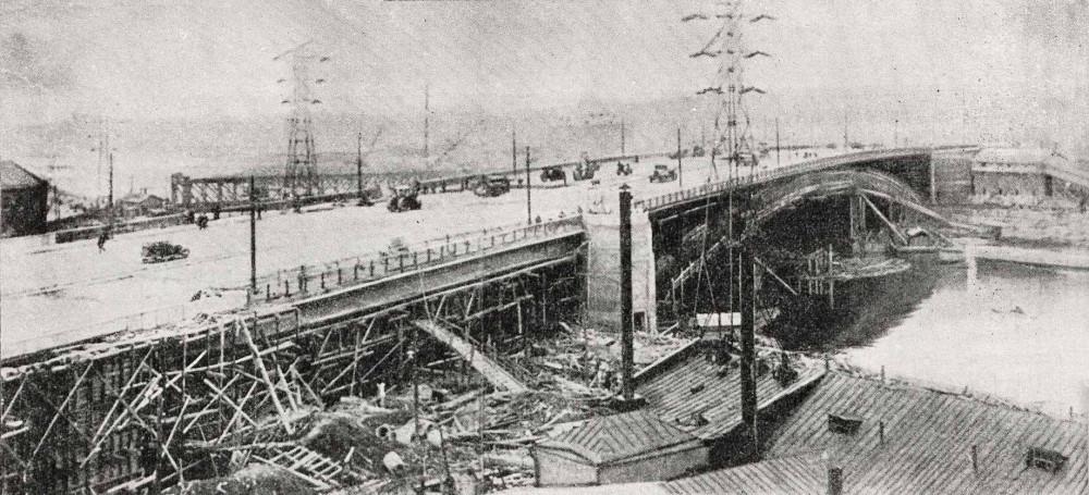 Большой Краснохолмский мост - 23 апреля 1938 года