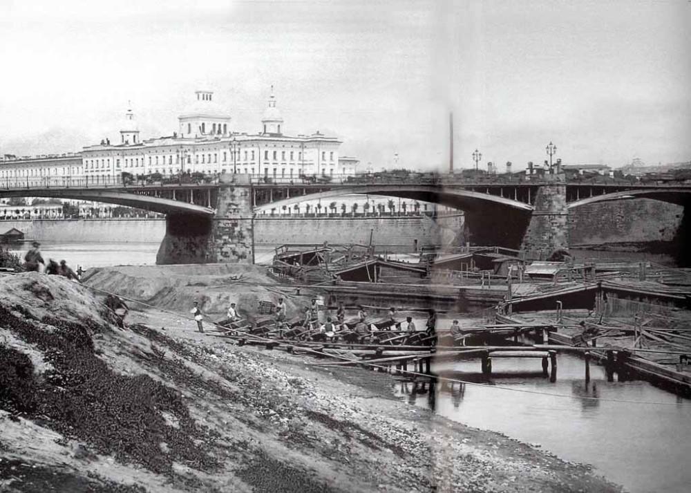 39578 Большой Устьинский мост 1900-е. 1900 - 1910 гг.