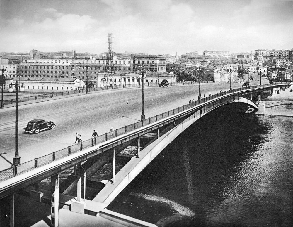 Большой Устьинский мост - sovarch 1950