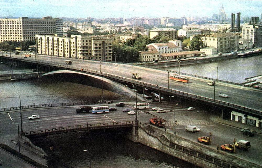 Большой Устьинский мост. 1975-1978 гг.