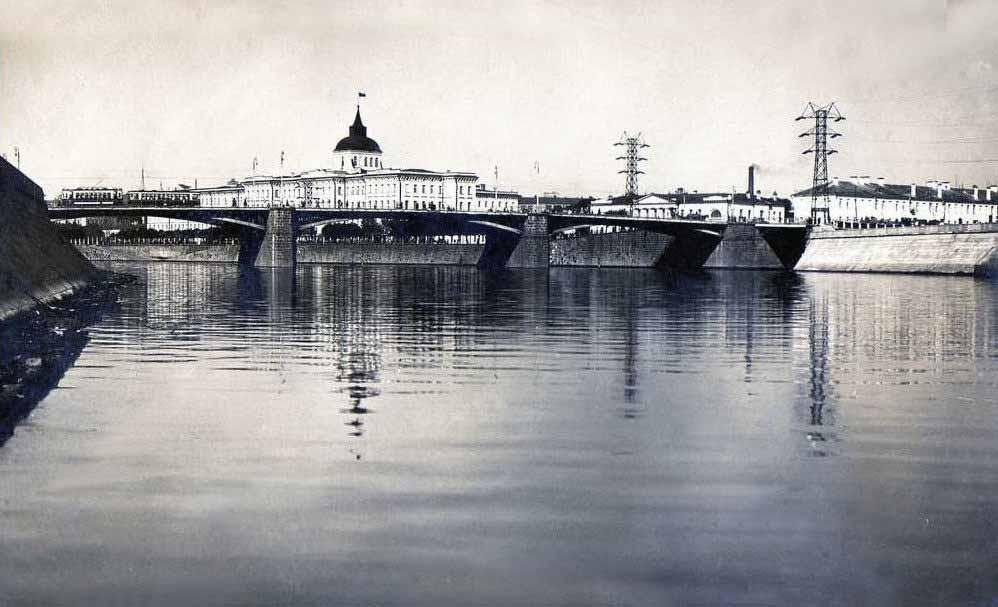Устьинский мост - 1935-1937 гг.