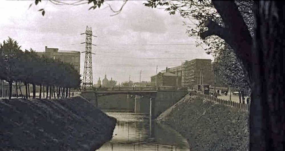 Яуза и Малый Устьинский мост - 1932 год