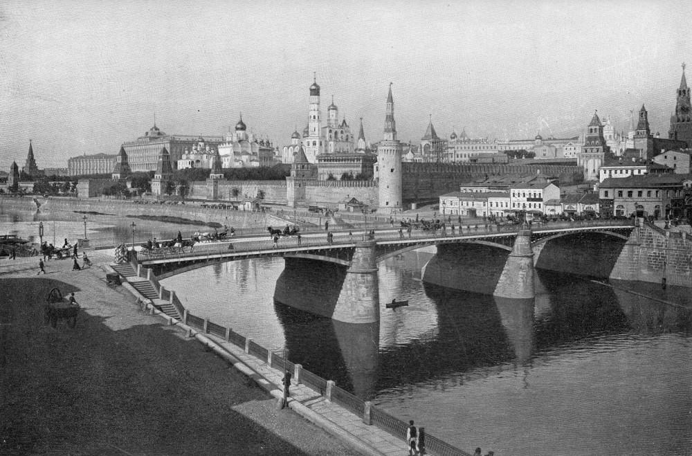 Большой Москворецкий мост - 1896 год