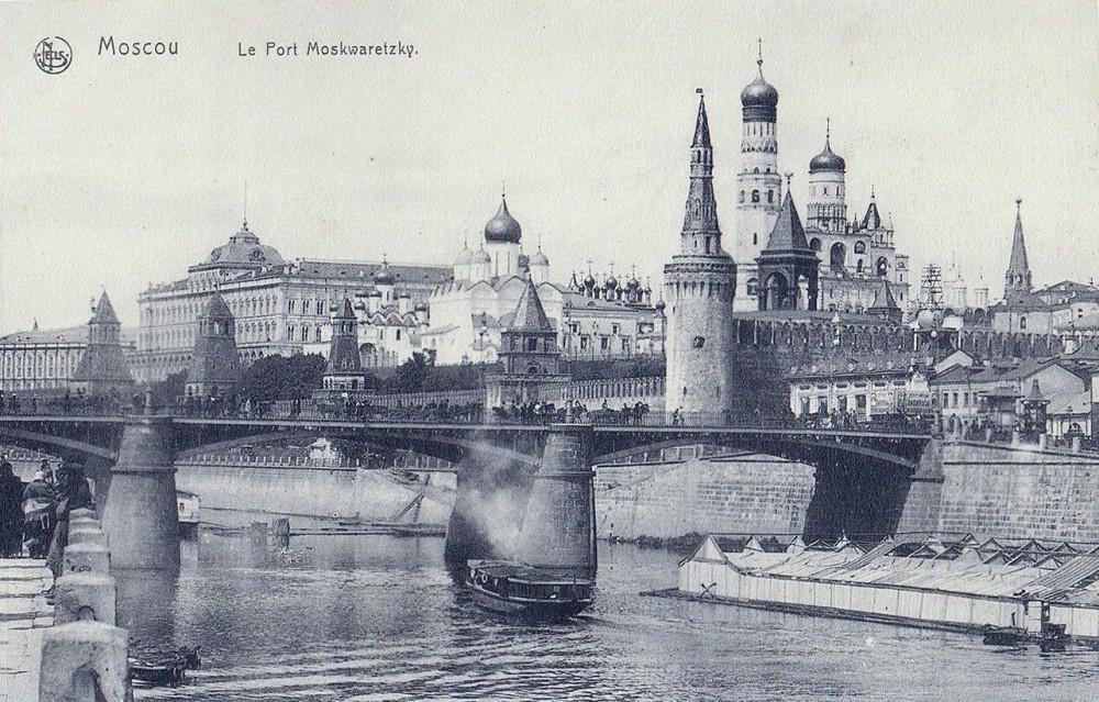 Большой Москворецкий мост - 1905 год