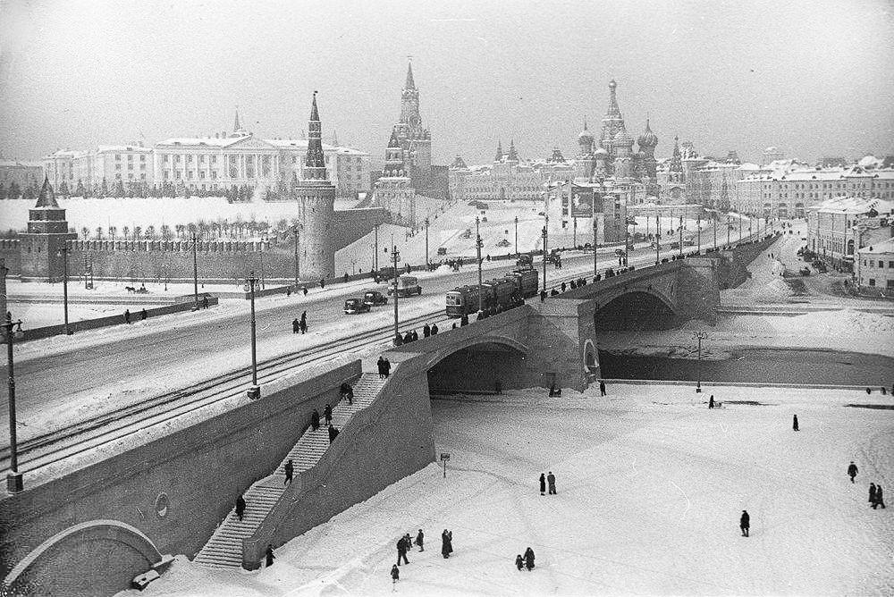 Большой Москворецкий мост - 1938-1939 гг