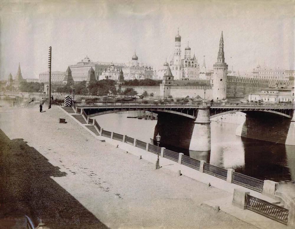 Старый Москворецкий мост - 1890 год