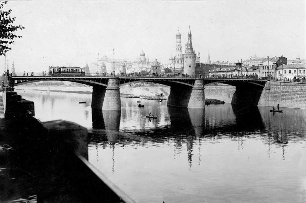 Старый Москворецкий мост - 1920-1928