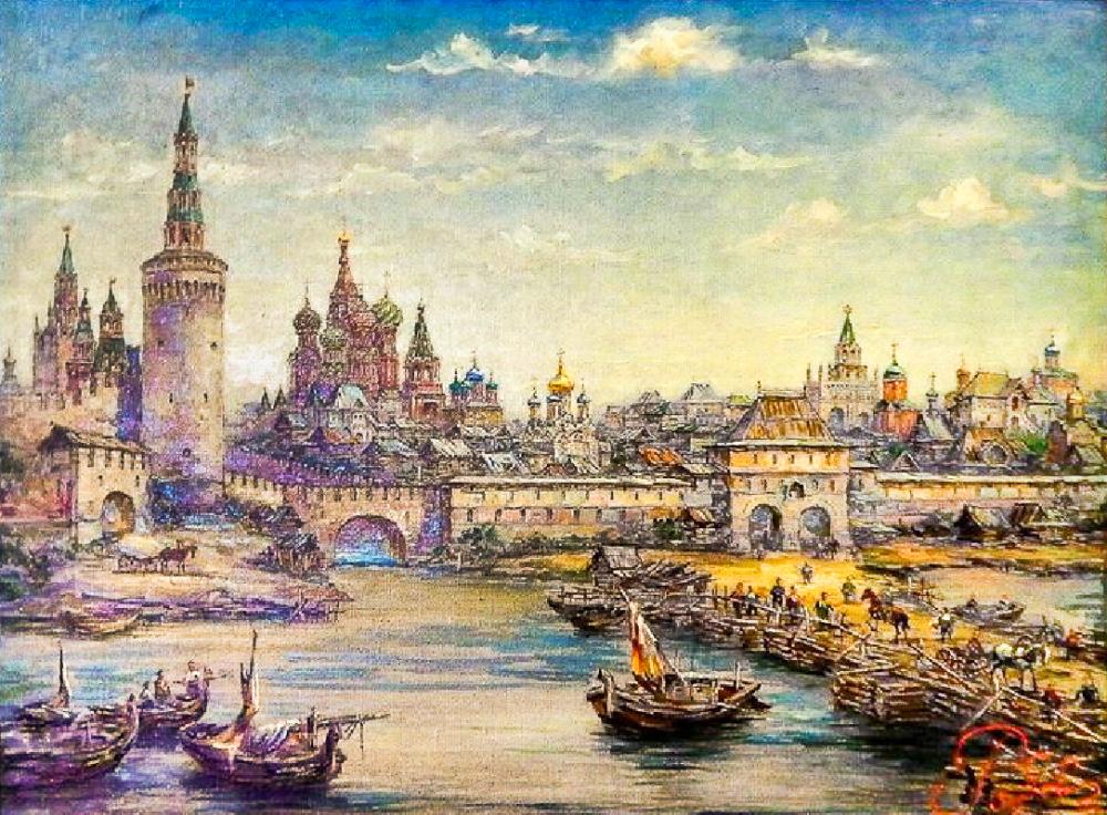 Москворецкие (Спасские) Водяные ворота Китай-города