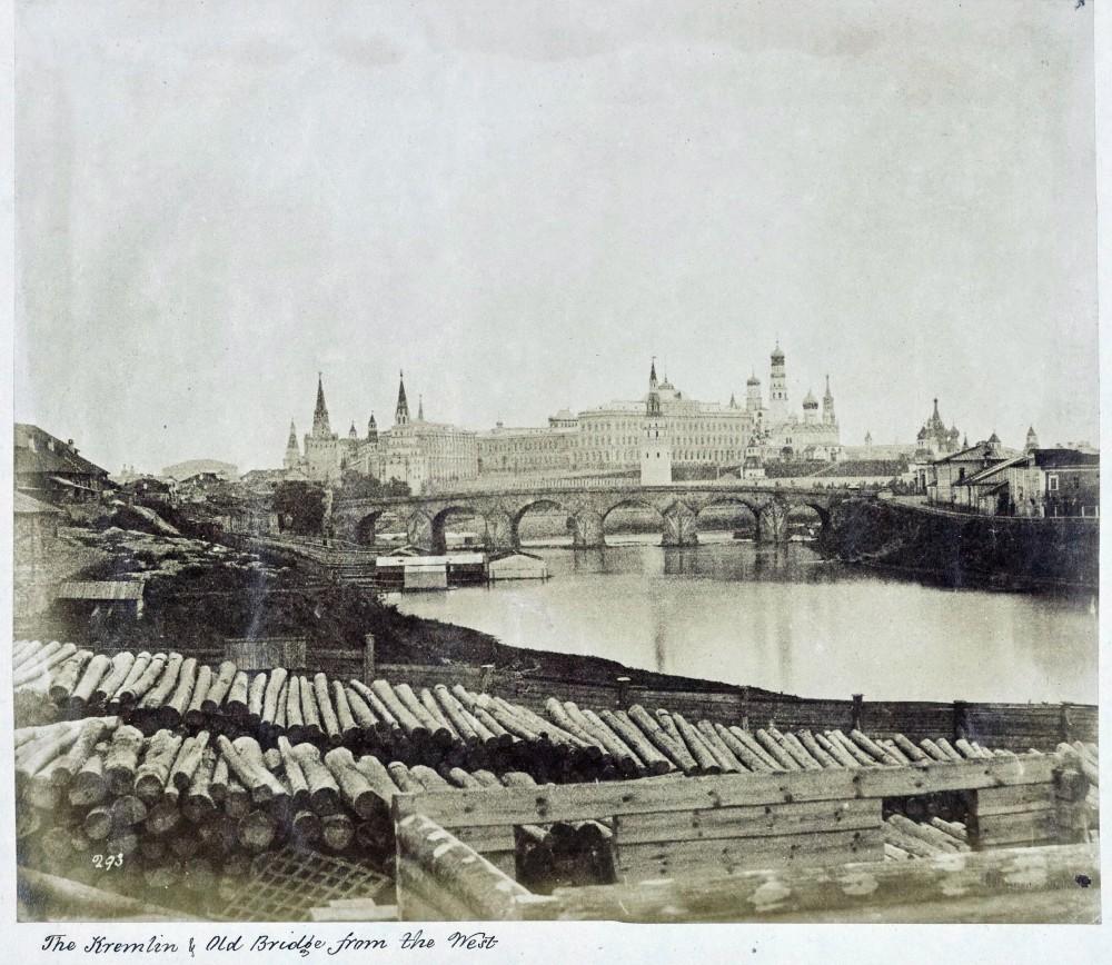Каменный мост. 1852 год.