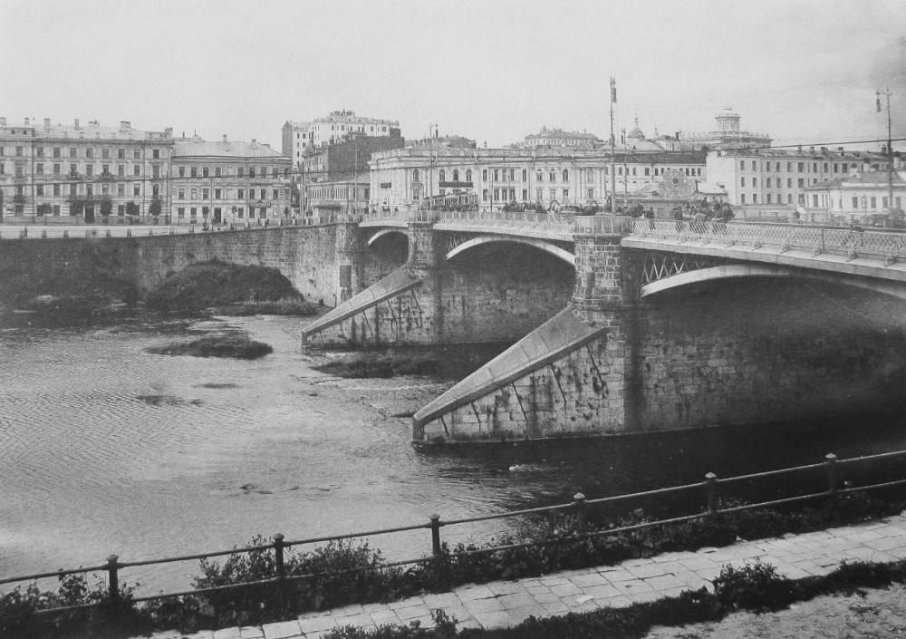 Большой Каменный мост. 1923 год.