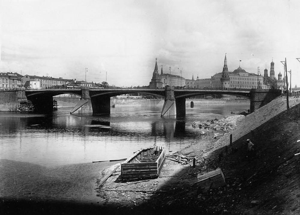 Большой Каменный мост - 1932 год.