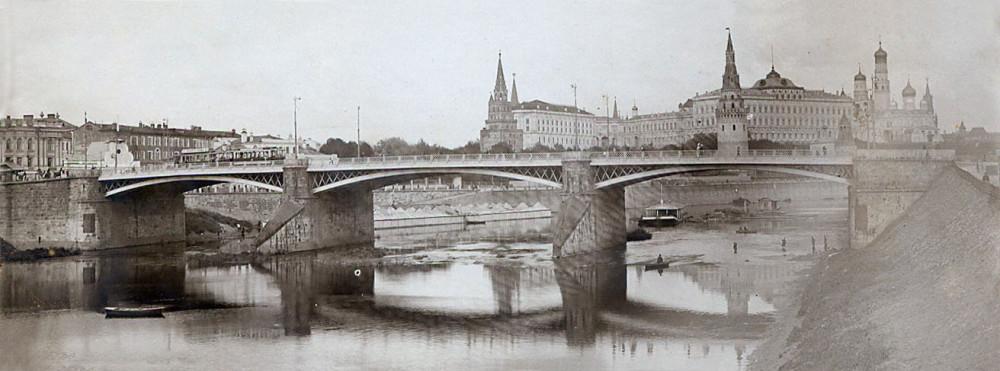 Большой Каменный мост. 1905-1914 годы.