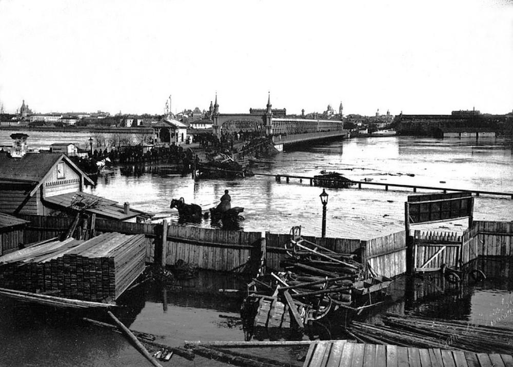 Крымский мост - 1908 год