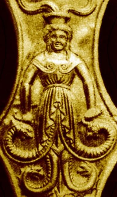 Змееногая скифская богиня Али