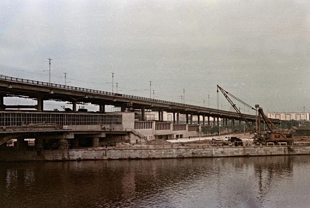 07. Лужнецкий мост — начало 60-х
