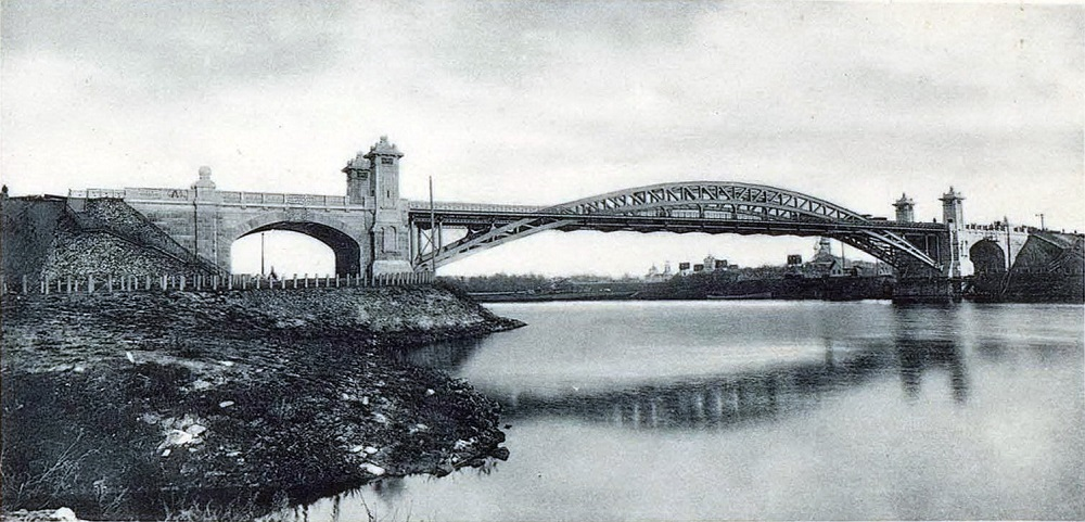 03. Мост императора Николая Второго. 1908 год.