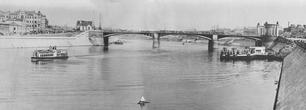 15. Бородинский мост. 1934 год.