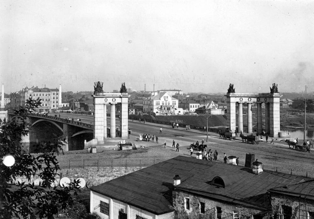 14. Бородинский мост. 1925-1930 год.