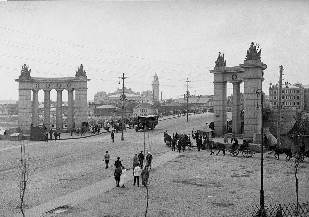 12. Бородинский мост. 1925-1930 годы.