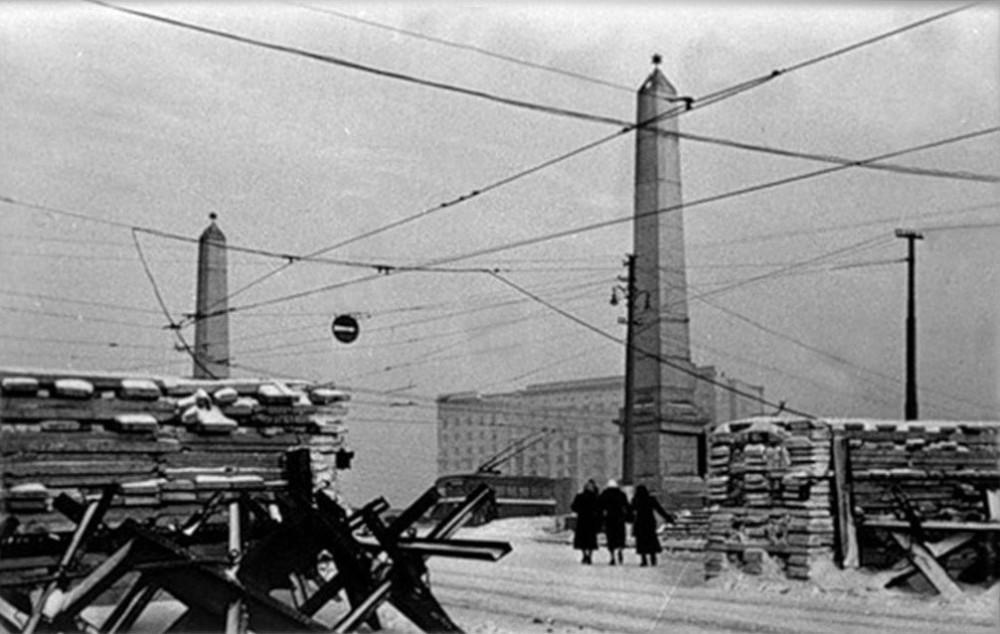 11. Бородинский мост. 1941 год.
